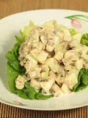 healthy tuna apple salad