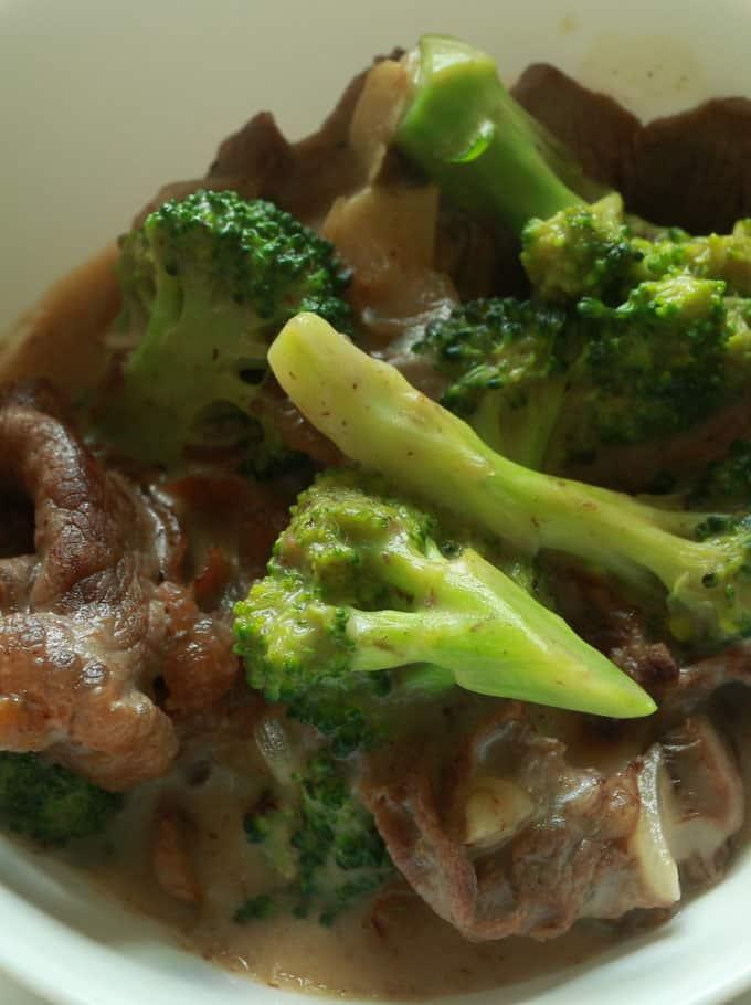 beef with brocolli