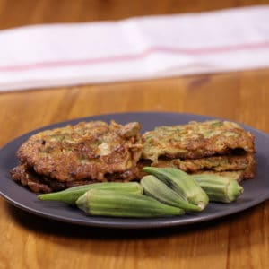 tortang okra