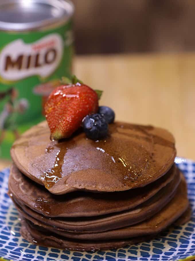 milo pancake