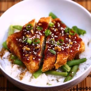 teriyaki tofu katsu recipe