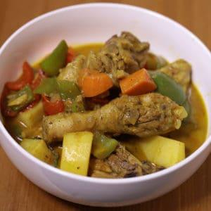 Filipino Style Chicken Curry Recipe
