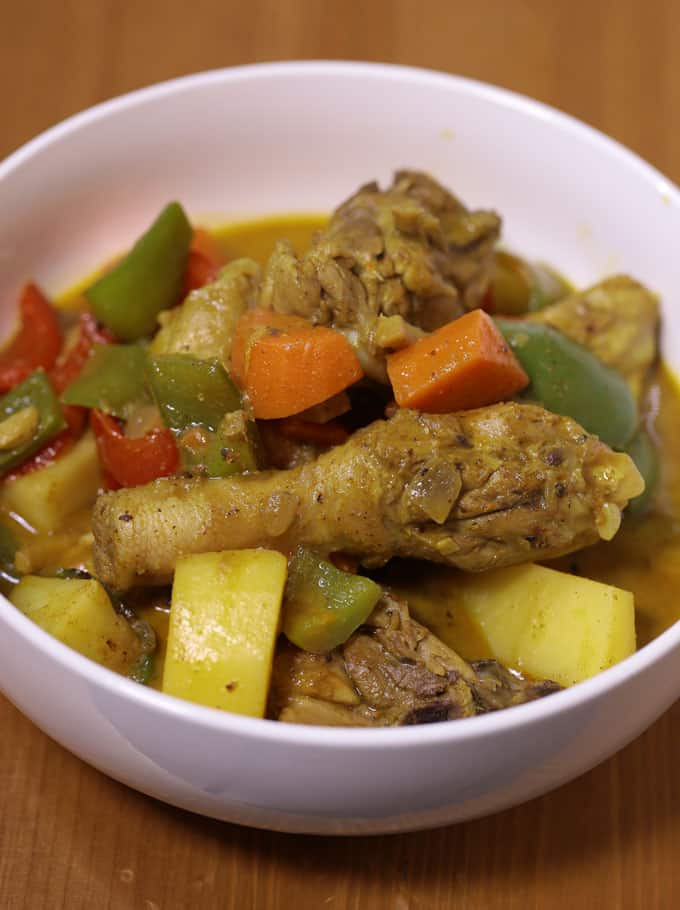 Filipino Style Chicken Curry