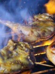 chicken inasal skewers