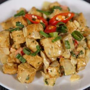 sizzling tofu recipe