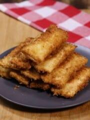 Tuna Pie using bread