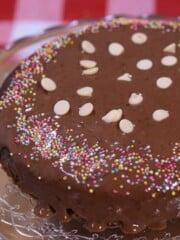 no bake milo cake