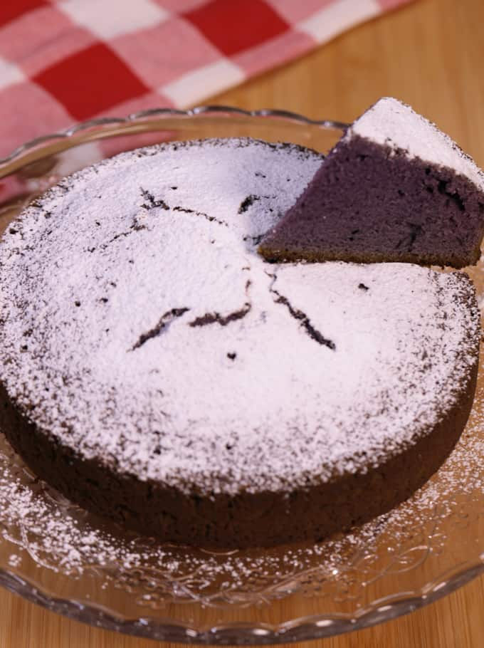 no oven ube condensed milk cake