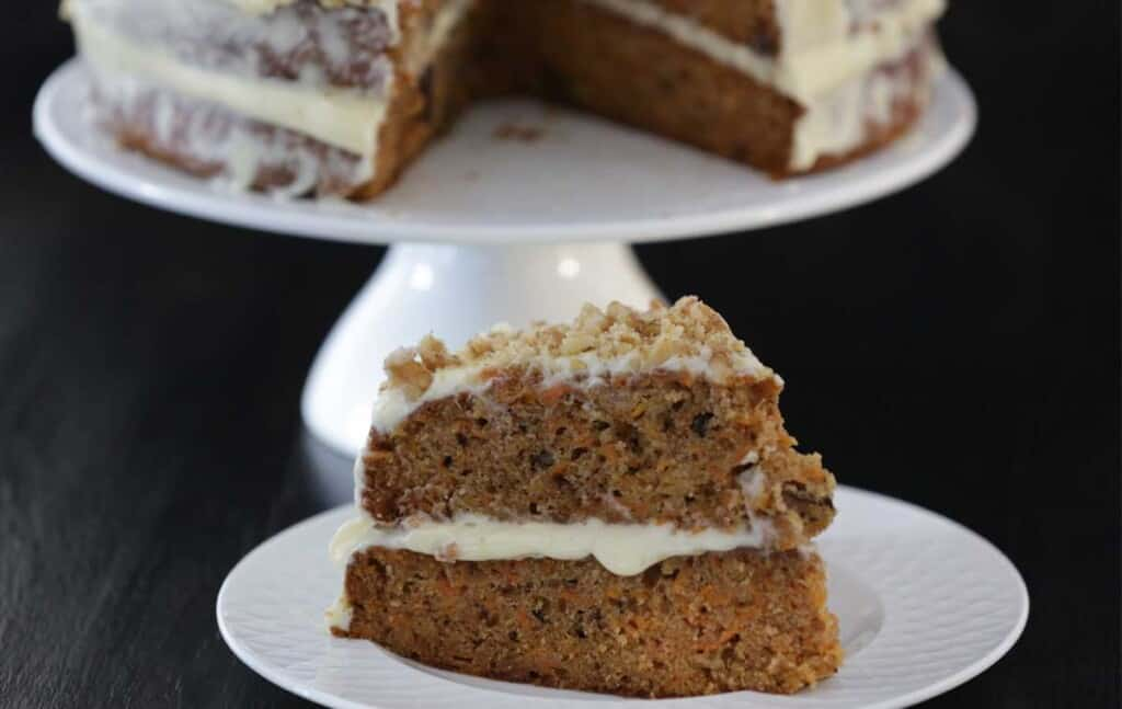 Amazingly Moist Carrot Cake