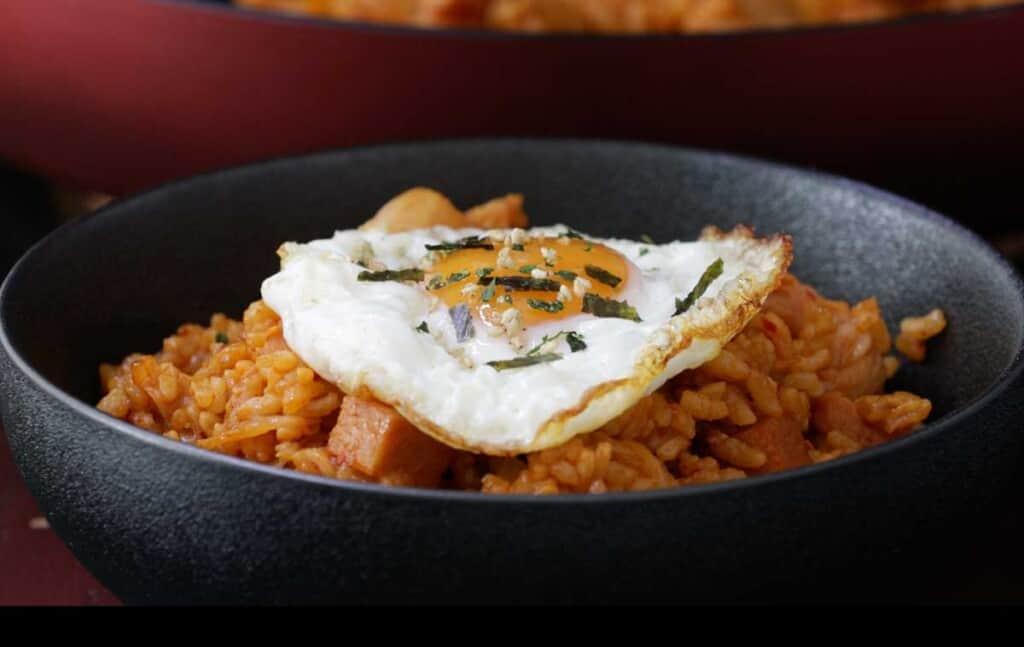 kimchi fried rice spam