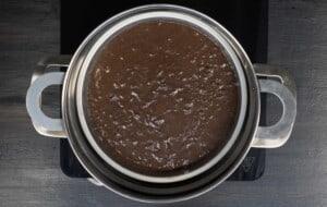steam the cake