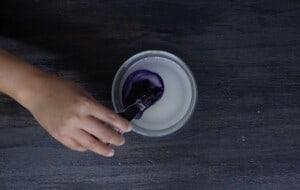prepare ube syrup
