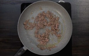cook the minced beef