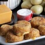 cheeseburger mashed potato dippers recipe