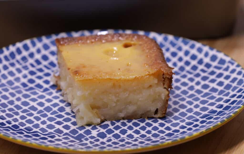 macapuno cassava cake