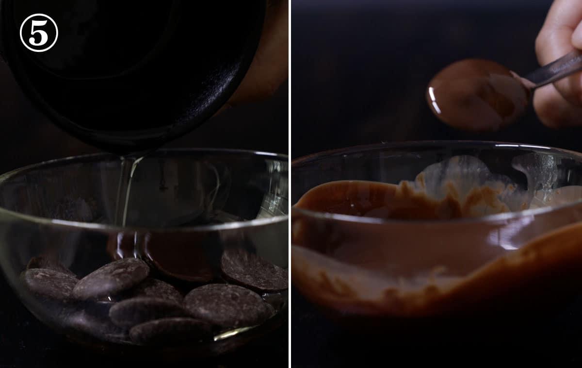 step 5 make the chocolate ganache