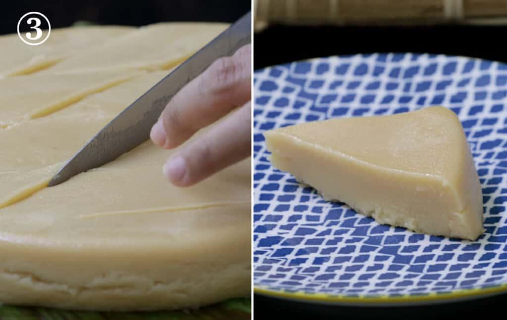 step 3 - slice and serve