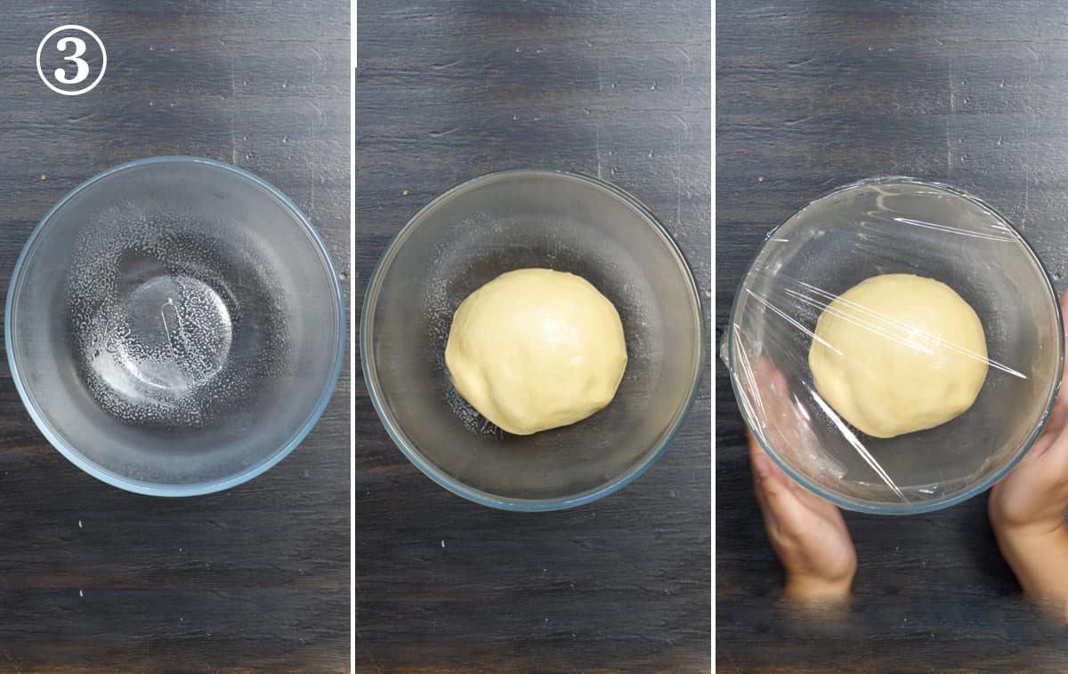 step 3 let dough rise